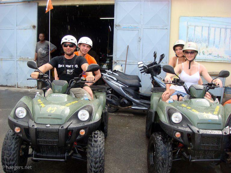 Quad Tour 2011 // St.Maarten