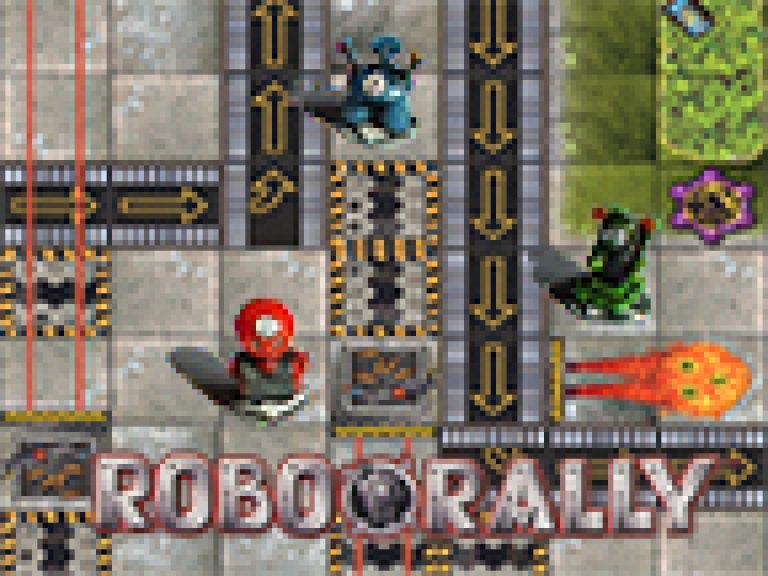 BGD // das verrückte RoboRally rennen