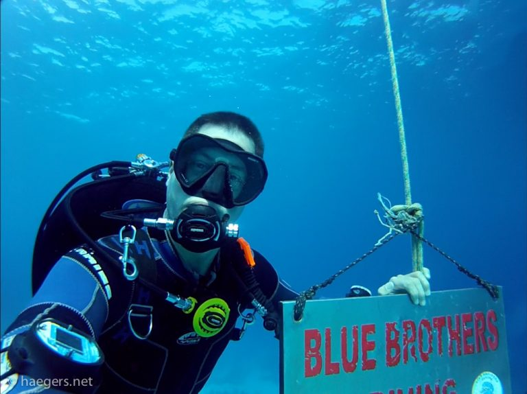 Blue Brothers Diving // El Gouna
